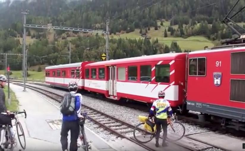 スイス 鉄道と自転車の旅 Day4:(2)マッターホルンの麓ツェルマットへ