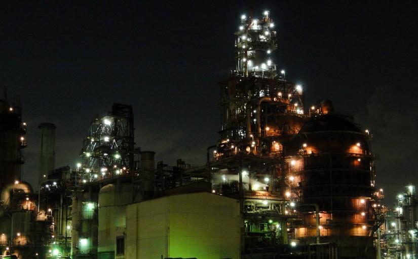 工場萌え!川崎市夜光ナイトライド
