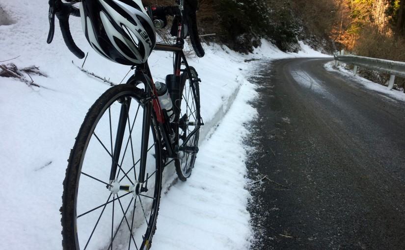 阿夫利林道・浅間山林道に行ってみたけど、まだ寒かった。