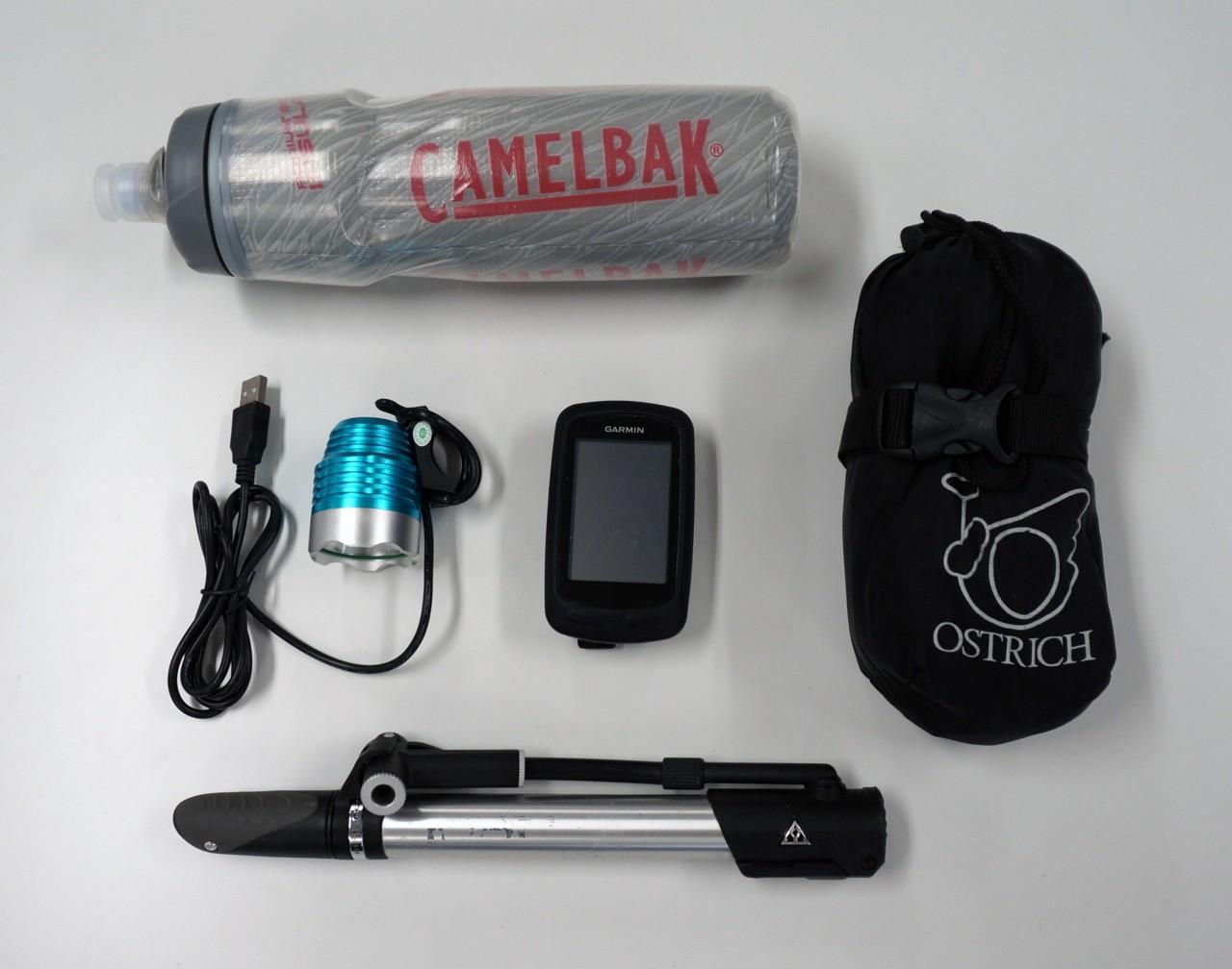 ライト ポンプ GPS機器 輪行袋 ボトル