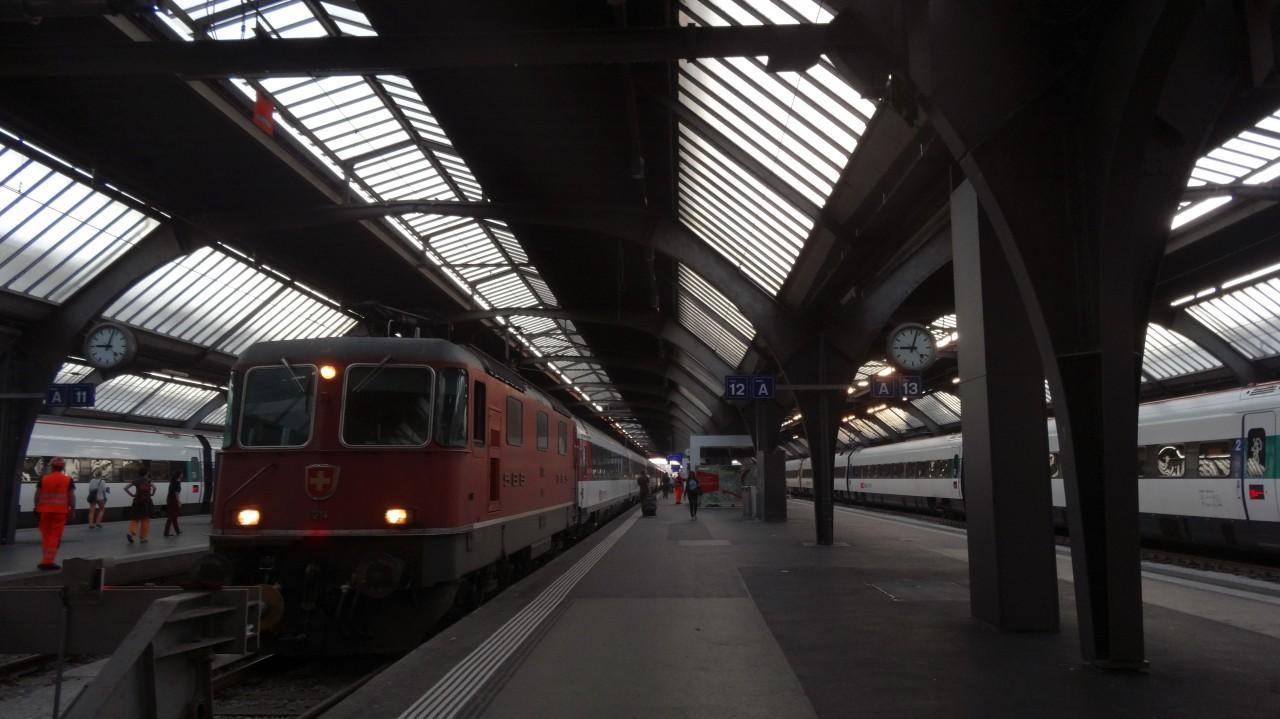 スイス国鉄(SBB)のチューリッヒ駅