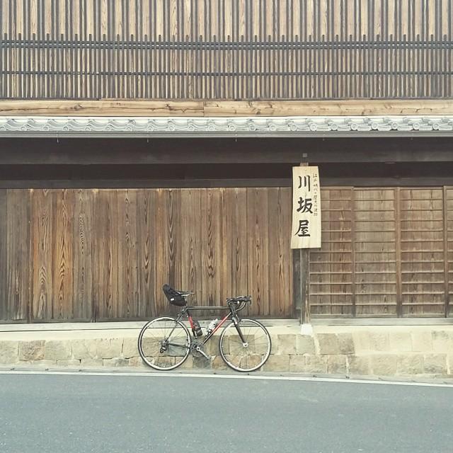 日坂宿の旅籠屋 川坂屋