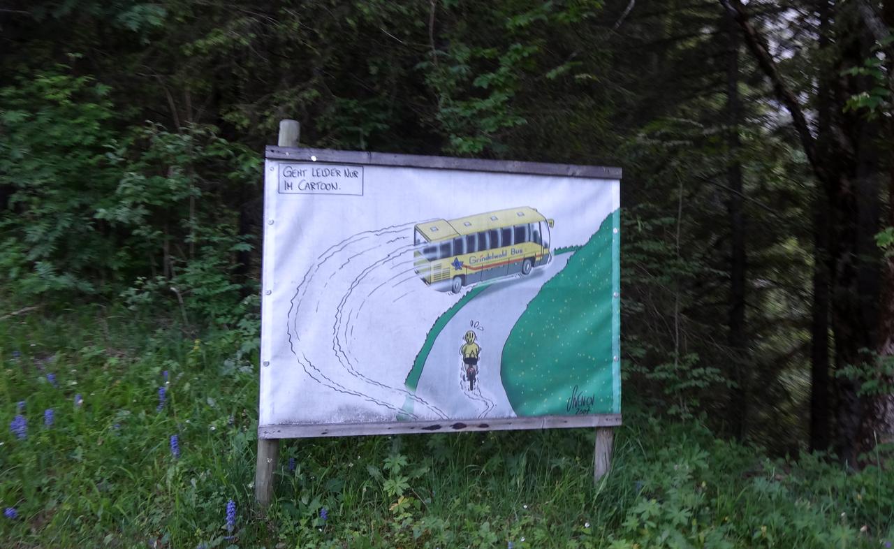 スイスのマナー広告