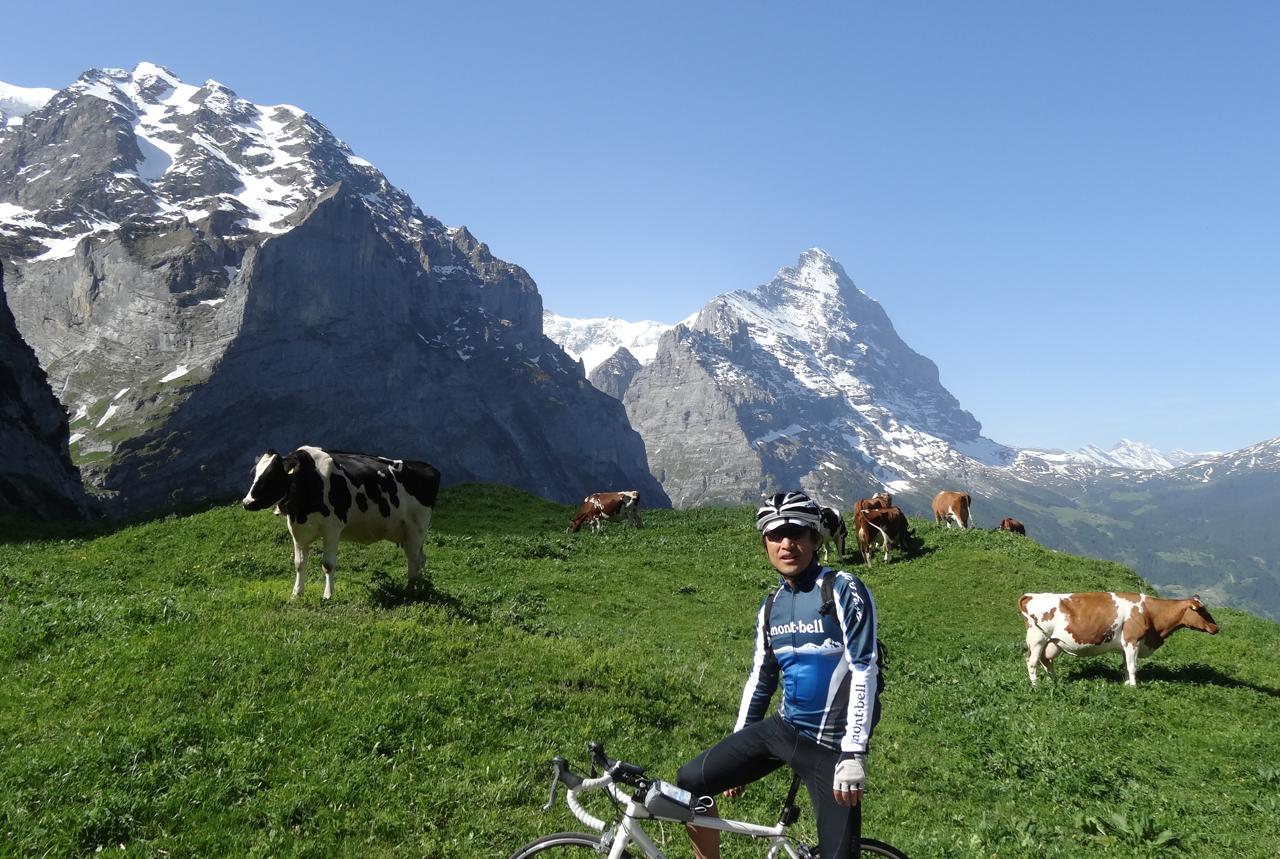 スイスと言えばこの景色