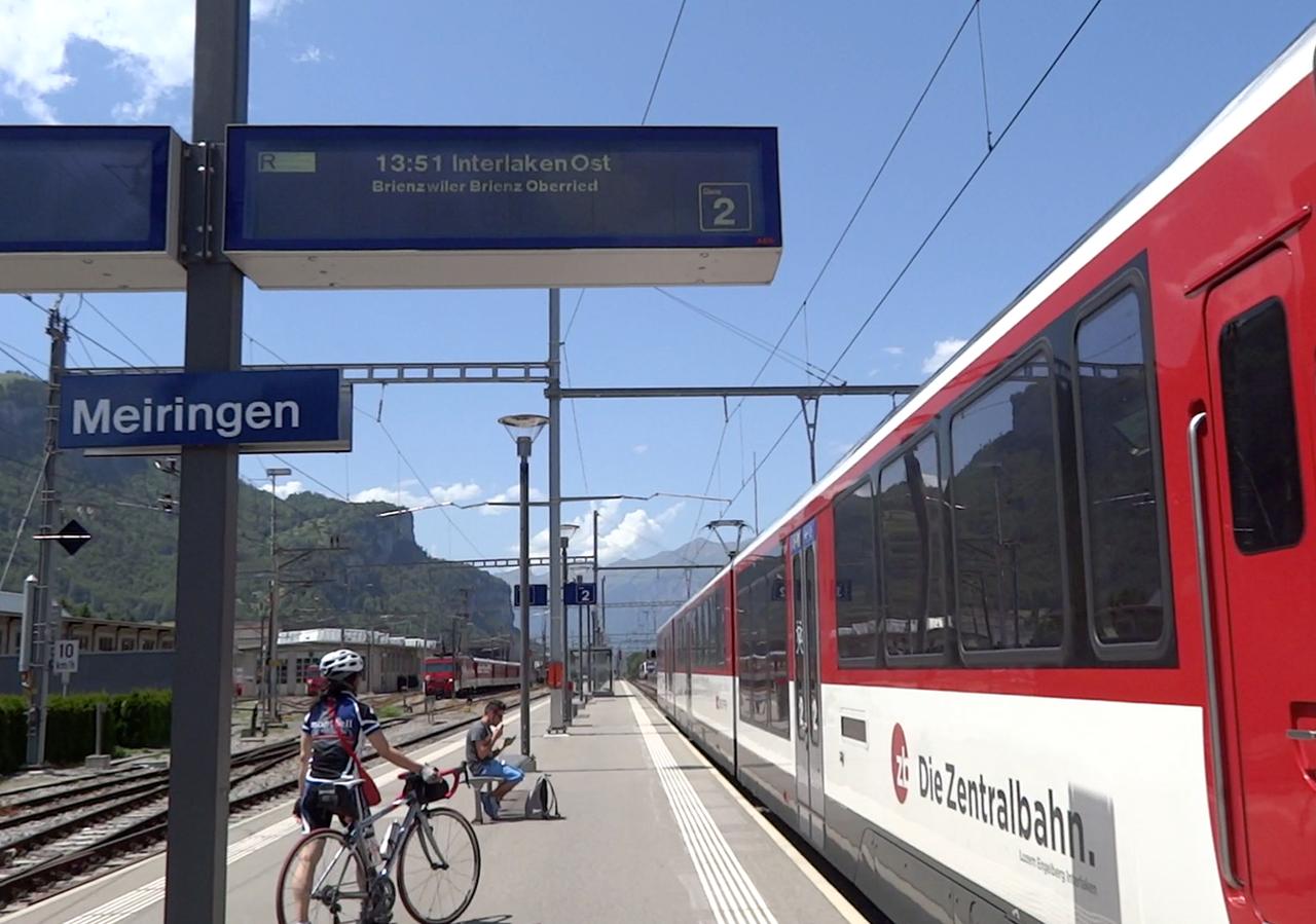 ツェントラル鉄道マイリンゲン駅