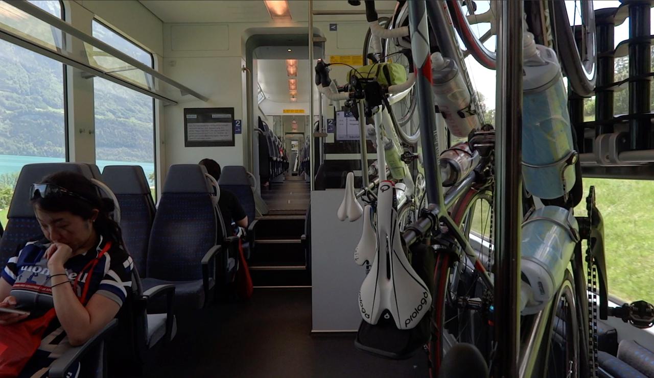 ツェントラル鉄道のバイクスペース