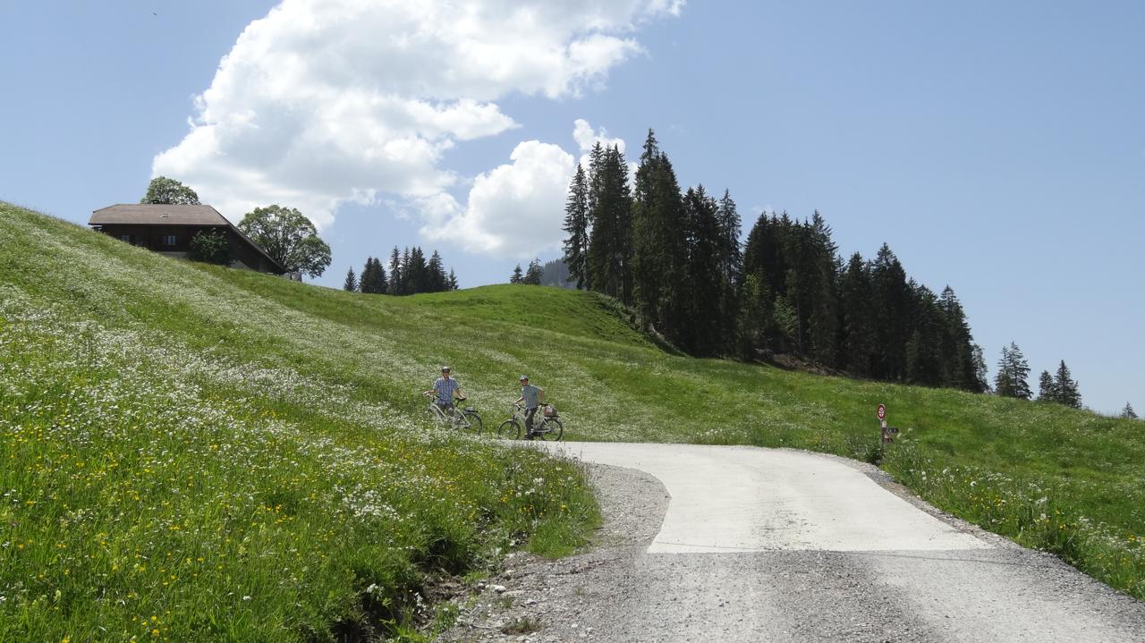 スイスのサイクリスト