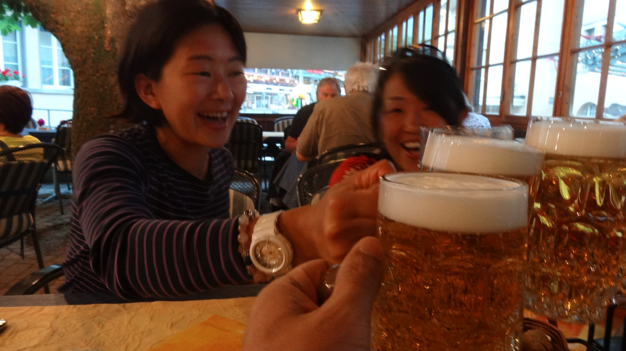 グリンデルワルドで小田島さんと会えました