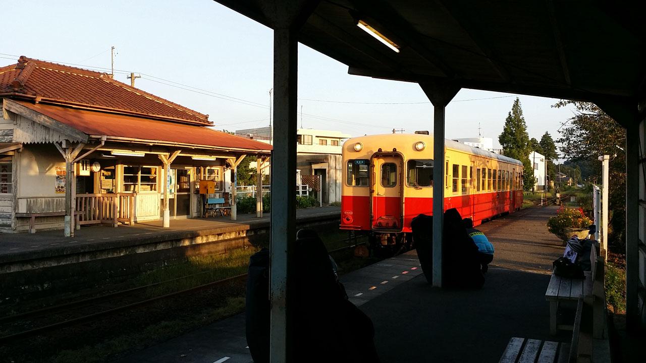 小湊鐵道 馬立駅から輪行