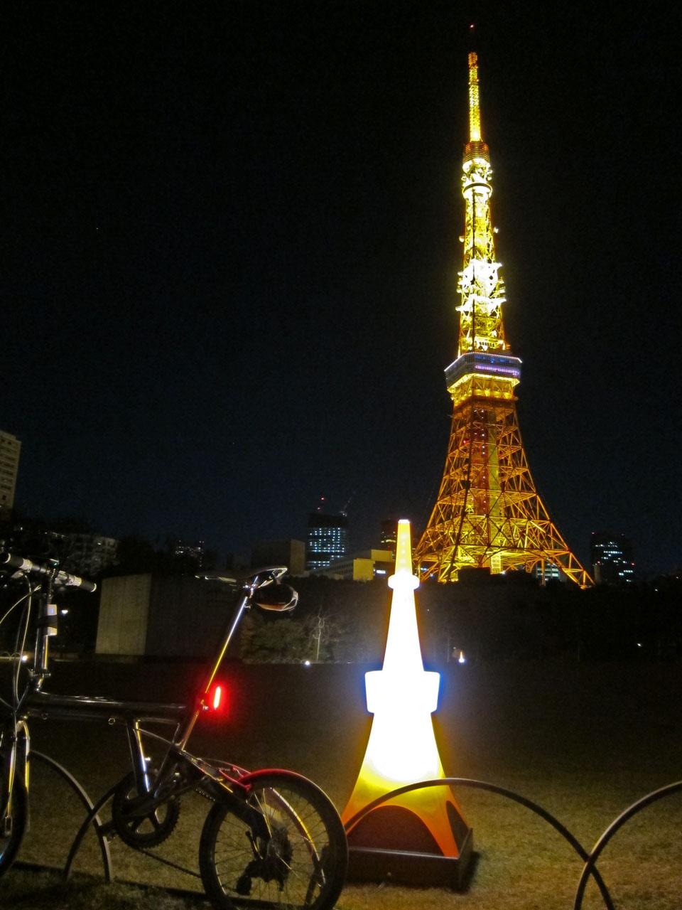 東京タワー ライトアップ(でっちーさん撮影)
