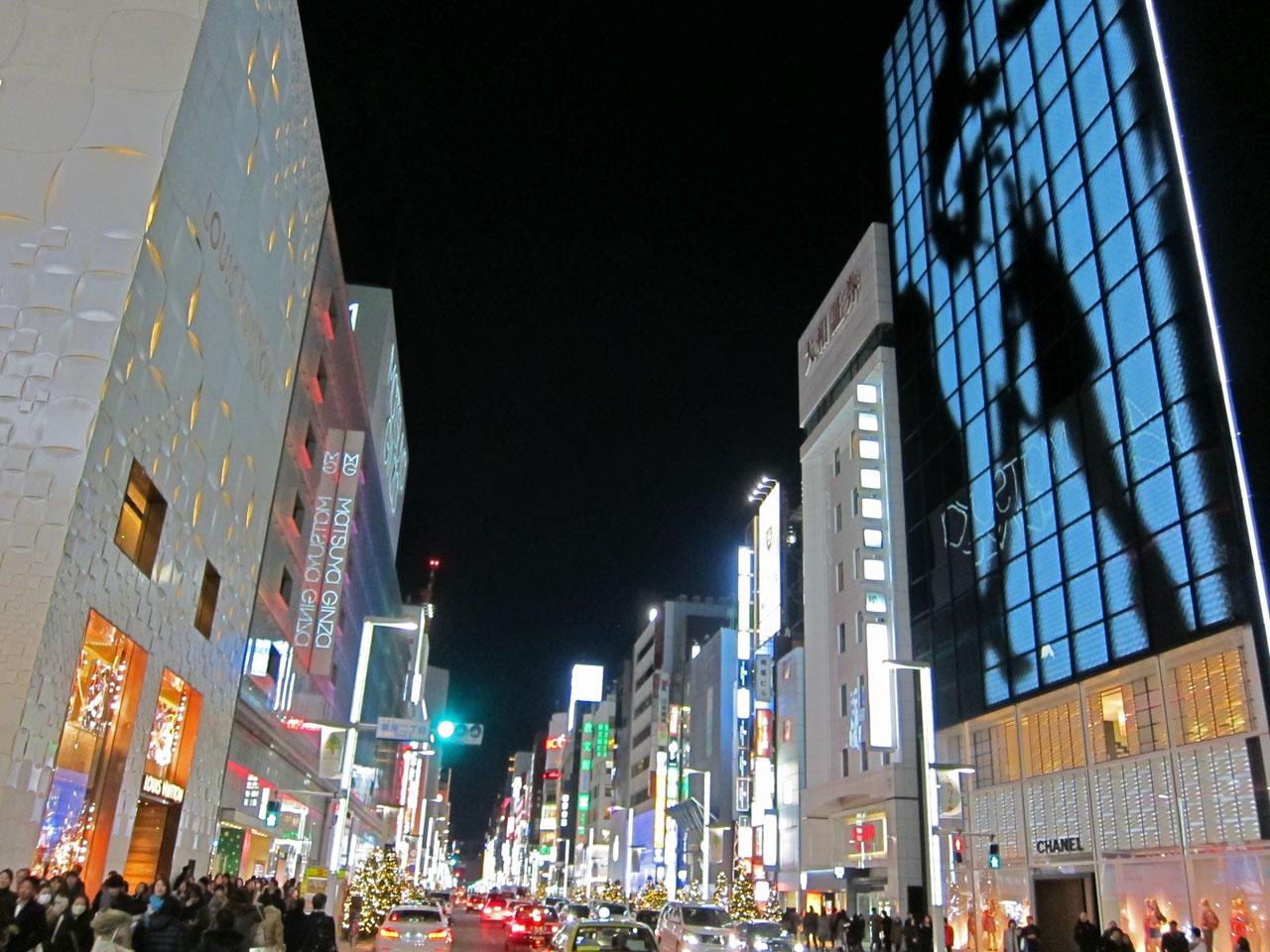 銀座 ヒカリミチ(でっちーさん撮影)