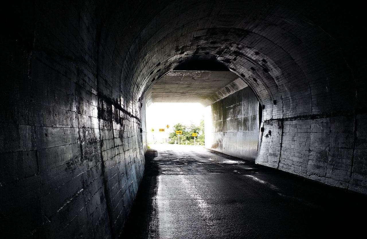 白沢トンネルを抜けると・・・