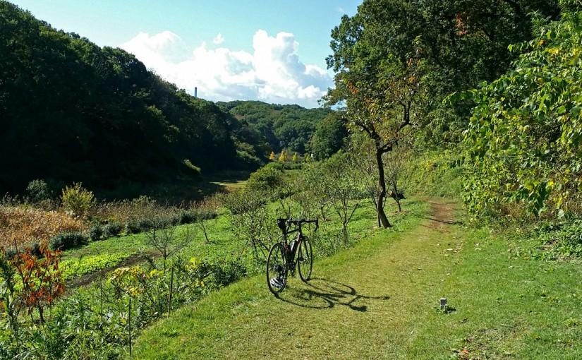 多摩丘陵の小野路地域をシクロクロス車でのんびり走った