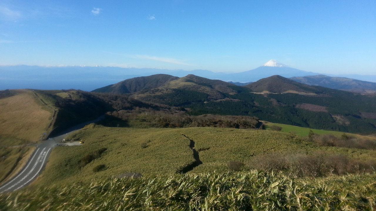 仁科峠からの眺望