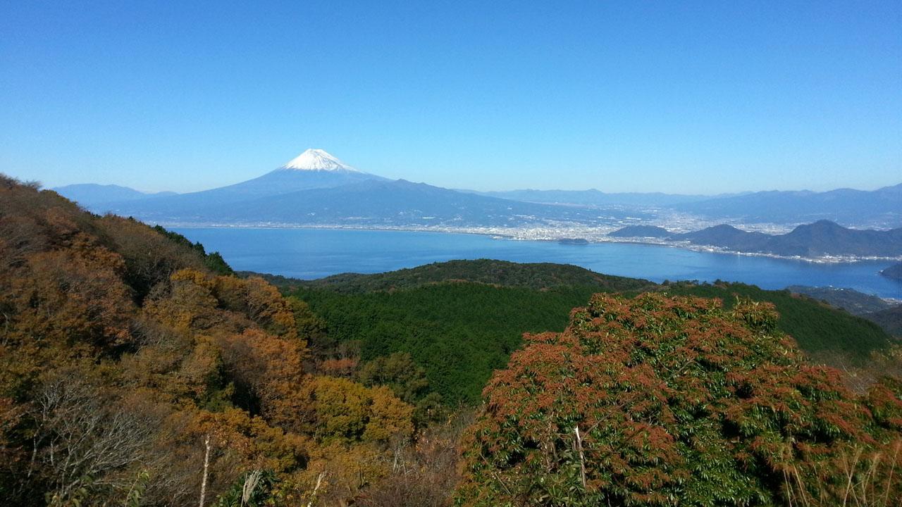 達磨山レストハウスからの眺望
