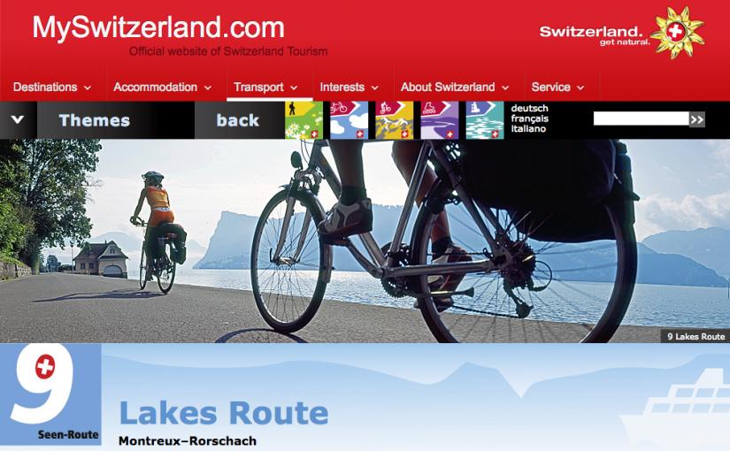 スイスの湖を巡るじてんしゃの旅(1)準備編 サイクリングウェア