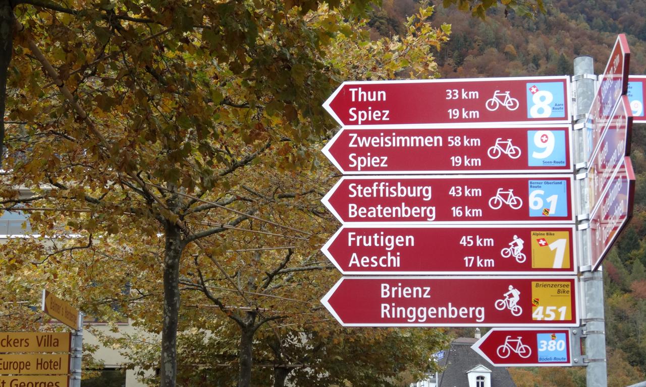 全国共通の自転車用の標識