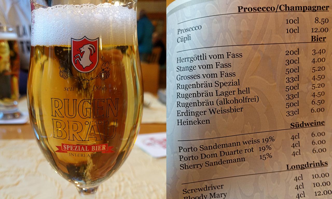 ビールの種類が豊富