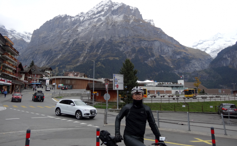 スイスの湖を巡るじてんしゃの旅(9)Day4 グリンデルワルド〜インターラーケン
