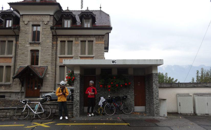 スイスの湖を巡るじてんしゃの旅(11)Day6 エペス〜ローザンヌ