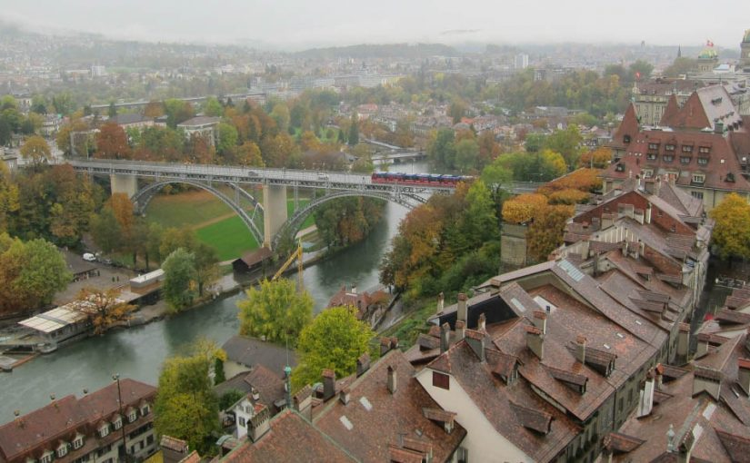 スイスの湖を巡るじてんしゃの旅(13)Day8 フリブール〜ベルン