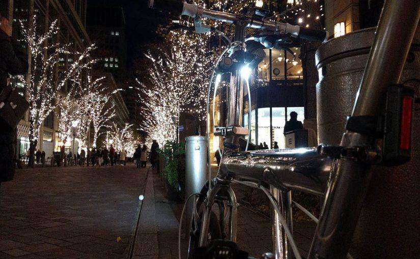 都心のイルミネーションをめぐるナイトライド 2017年度版
