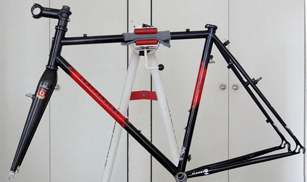 シクロクロスバイク組み付け(1)クランク