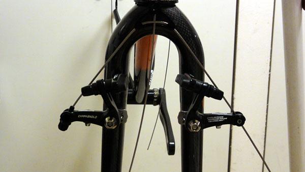 シクロクロスバイク組み付け(4)カンチブレーキ