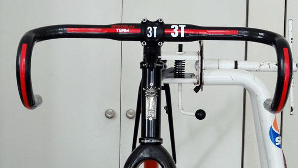 シクロクロスバイク組み付け(2)ステム・ハンドル