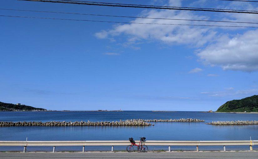 バイクフライデーで五能線じてんしゃ旅(3)男鹿半島 おが潮風街道