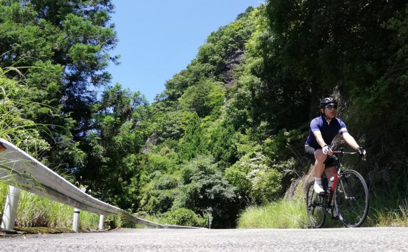 棚田広がるツール・ド・熊野 第2ステージ「熊野山岳コース」を走る
